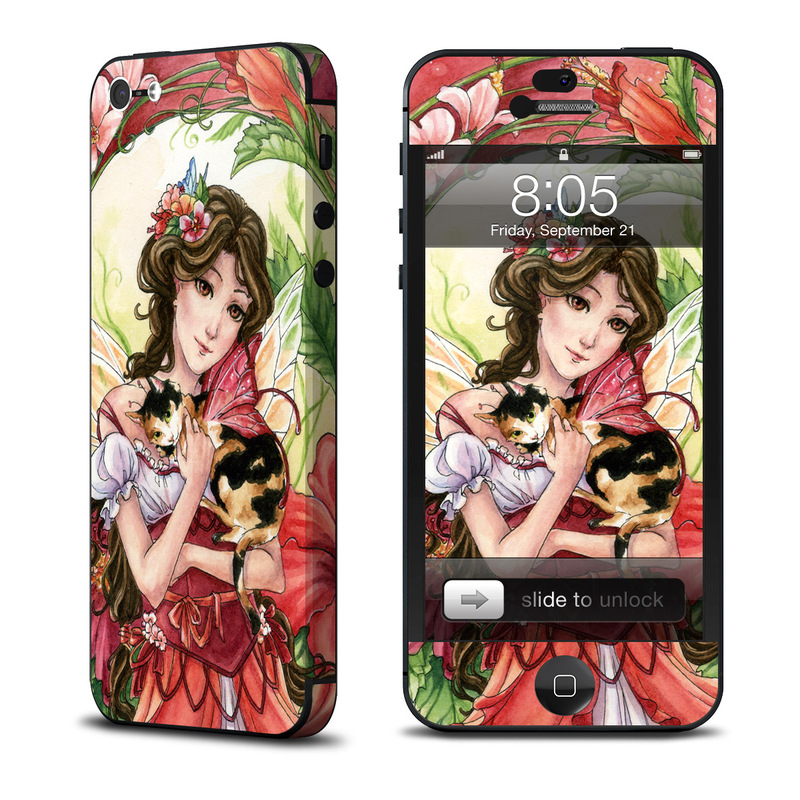 Hibiscus Fairy iPhone 5 Skin