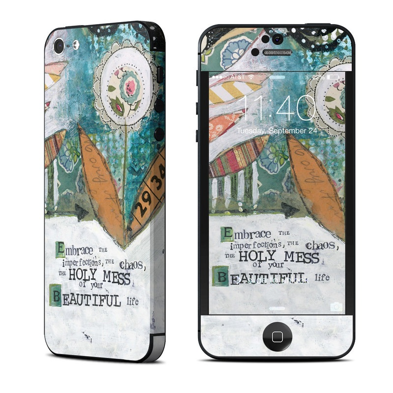 Holy Mess iPhone 5 Skin