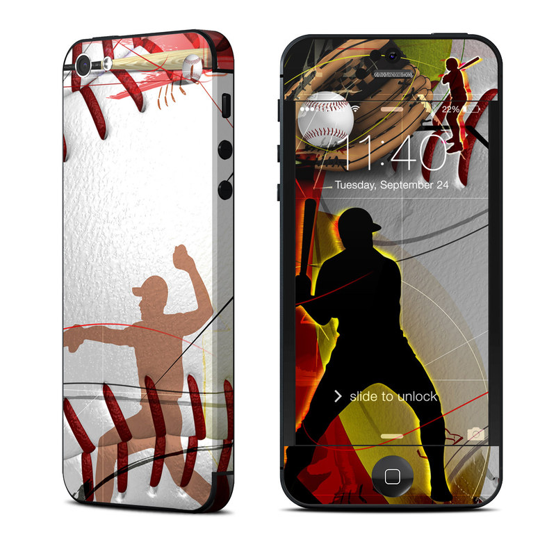 Home Run iPhone 5 Skin