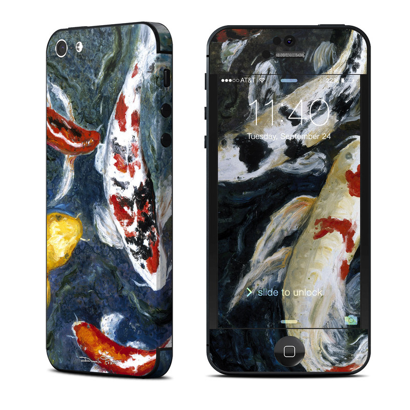 Koi's Happiness iPhone 5 Skin