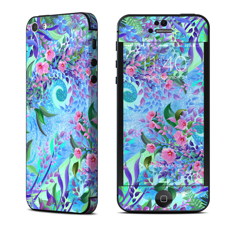 Lavender Flowers iPhone 5 Skin
