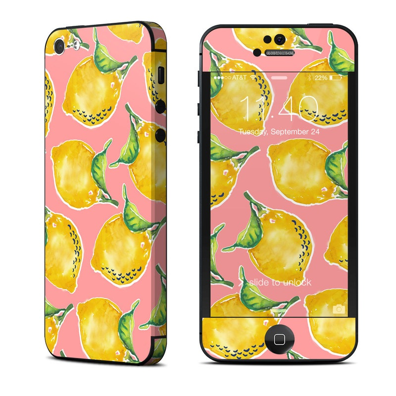 Lemon iPhone 5 Skin