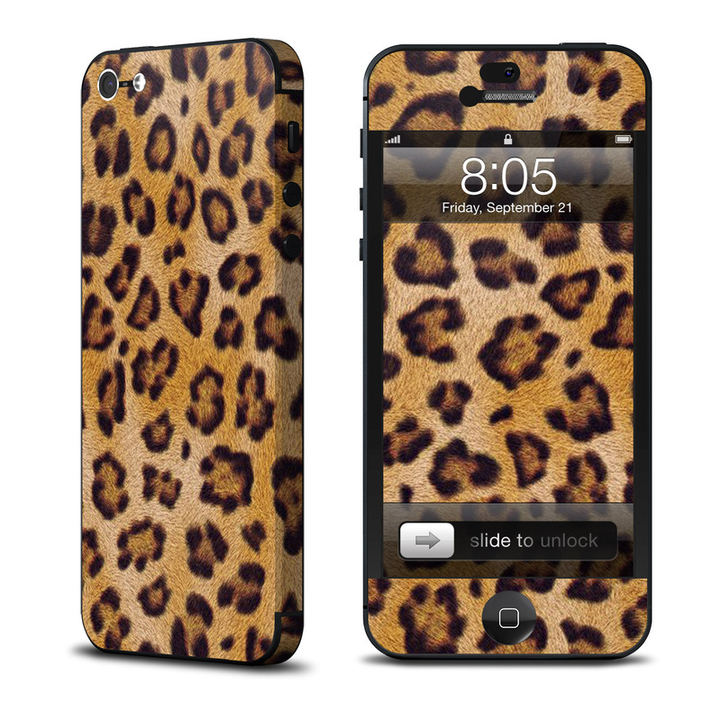 Leopard Spots iPhone 5 Skin