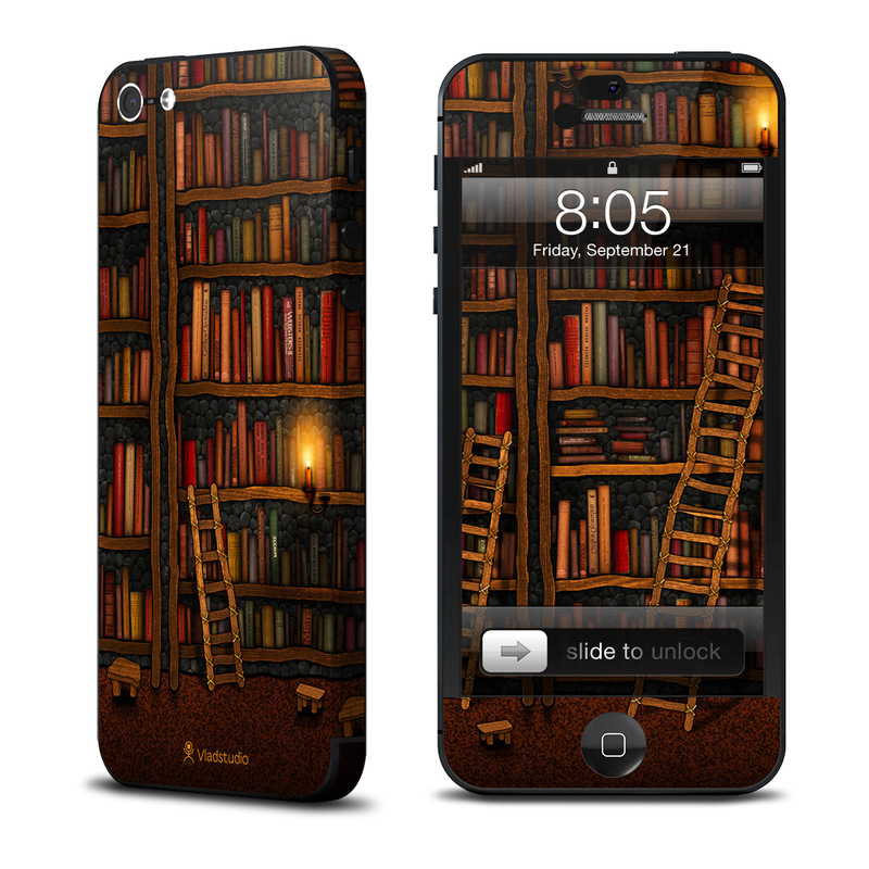 Library iPhone 5 Skin