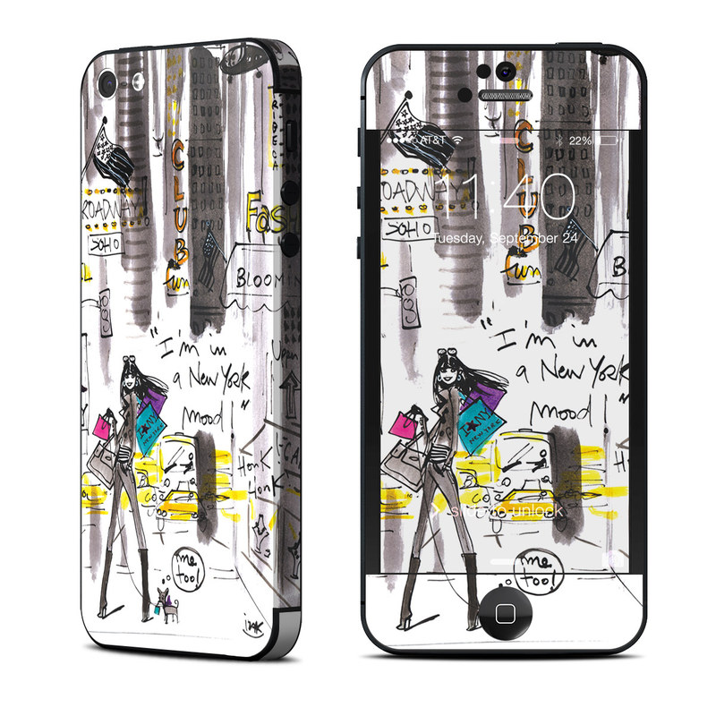My New York Mood iPhone 5 Skin