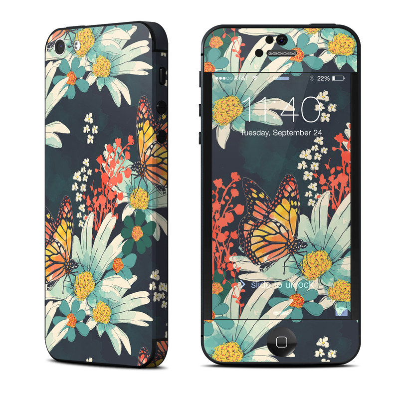 Monarch Grove iPhone 5 Skin