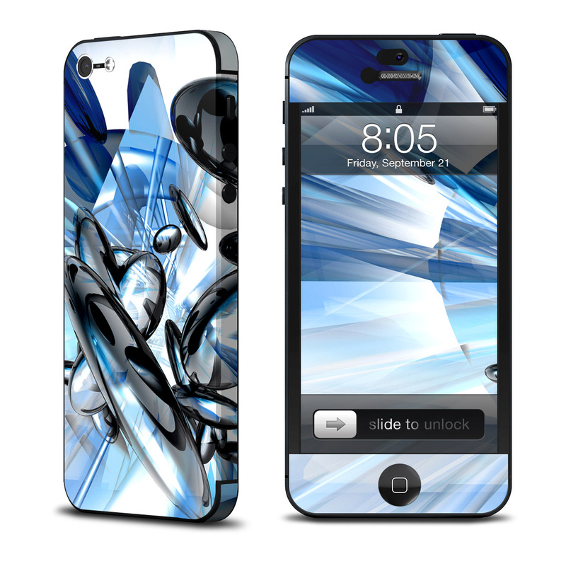 iPhone 5 Skin design of Blue, Graphic design, Graphics, Architecture, Cg artwork, Fictional character, Illustration with white, blue, gray, black colors
