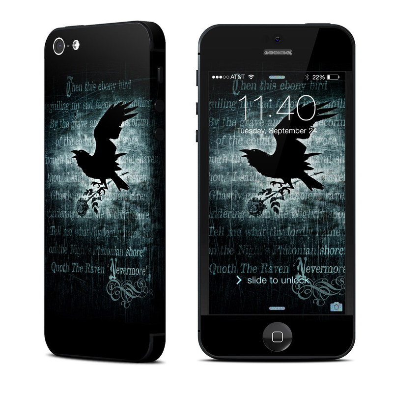 Nevermore iPhone 5 Skin