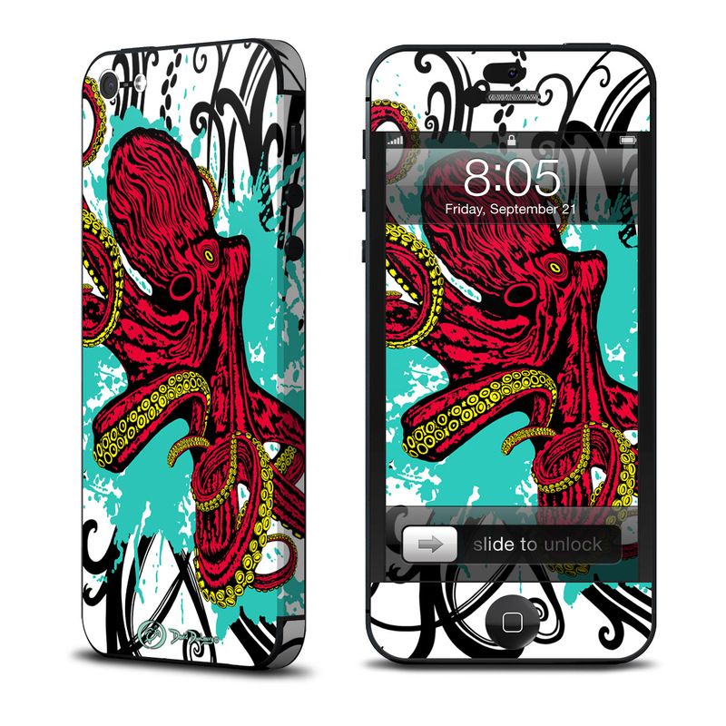 Octopus iPhone 5 Skin
