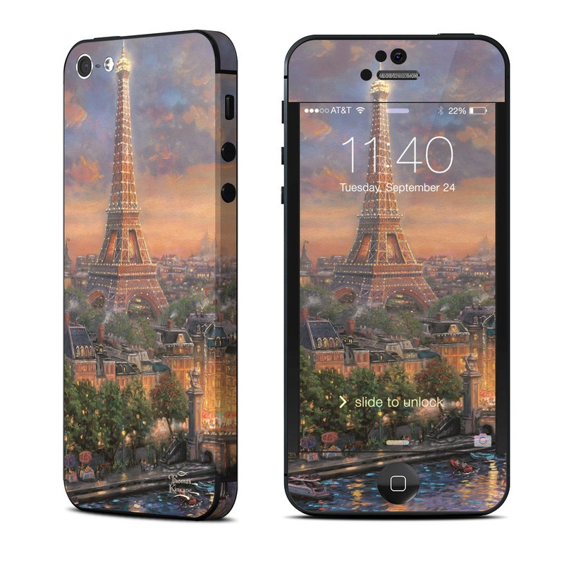 Paris City of Love iPhone 5 Skin