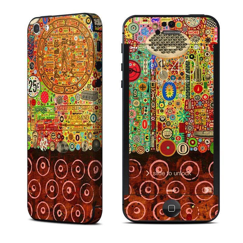 Percolations iPhone 5 Skin