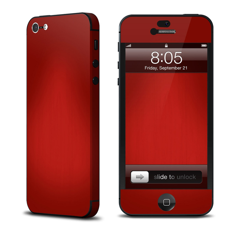 iPhone 5 Skin design of Red, Maroon, Orange, Brown, Peach, Pattern, Magenta with red colors