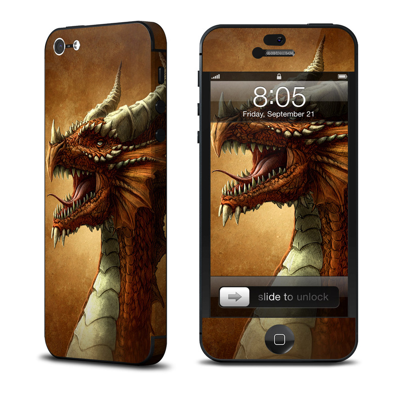 Red Dragon iPhone 5 Skin