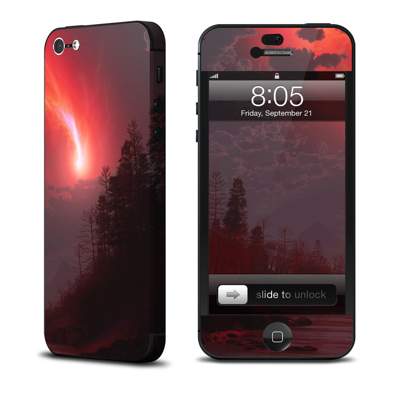 Red Harbinger iPhone 5 Skin