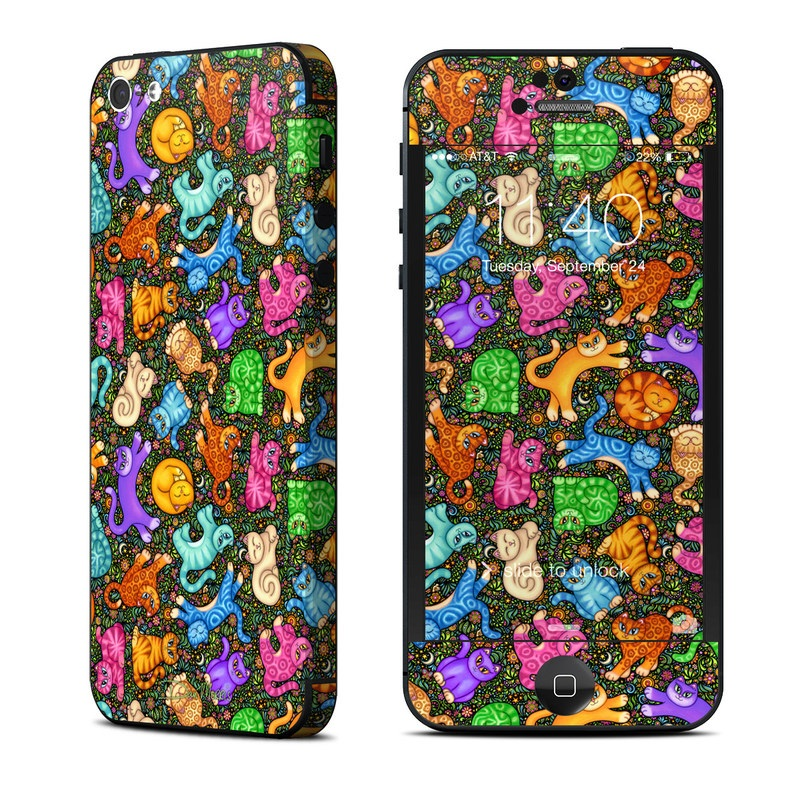 Sew Catty iPhone 5 Skin