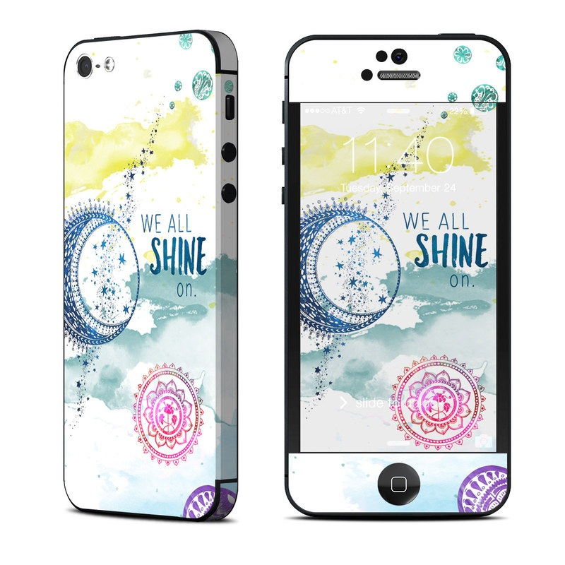 Shine On iPhone 5 Skin