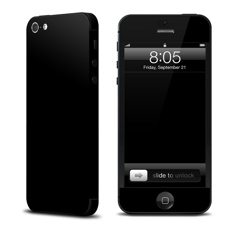 black iphone skin solid state black iphone 5 skin istyles 4595