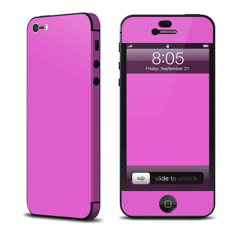 Solid State Vibrant Pink iPhone 5 Skin