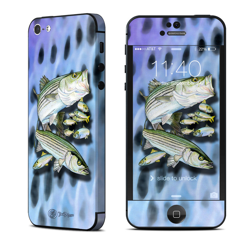 Striped Bass iPhone 5 Skin