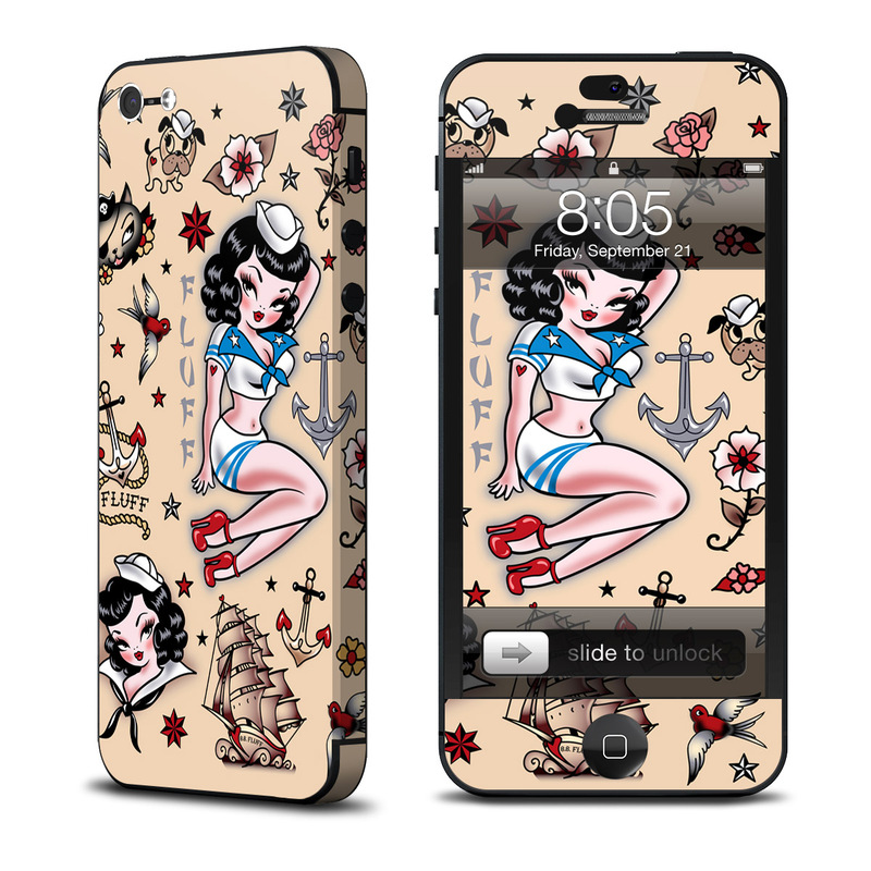 Suzy Sailor iPhone 5 Skin