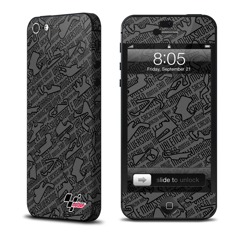 Tracked iPhone 5 Skin