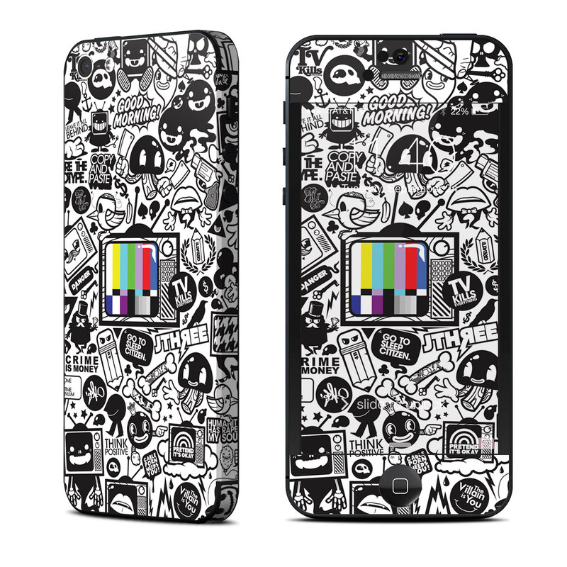 TV Kills Everything iPhone 5 Skin