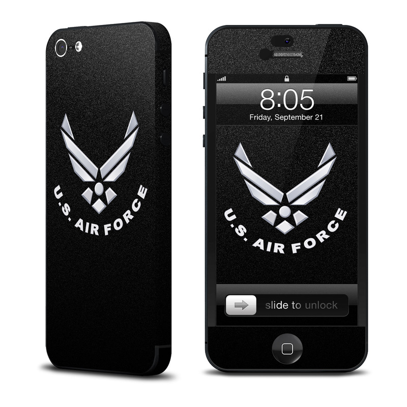 USAF Black iPhone 5 Skin