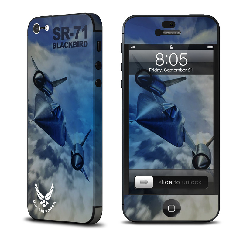 Blackbird iPhone 5 Skin