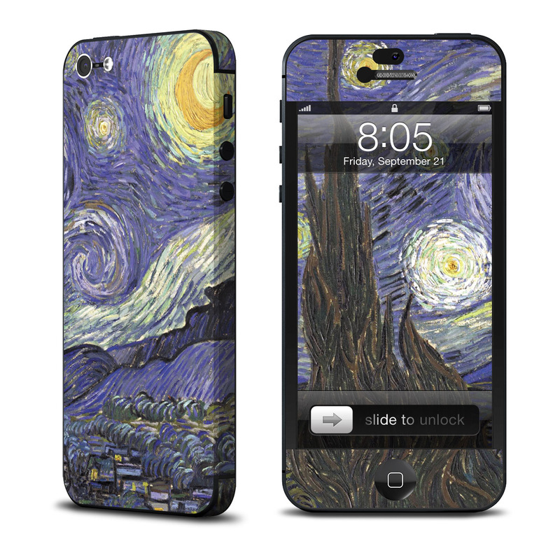 Starry Night iPhone 5 Skin
