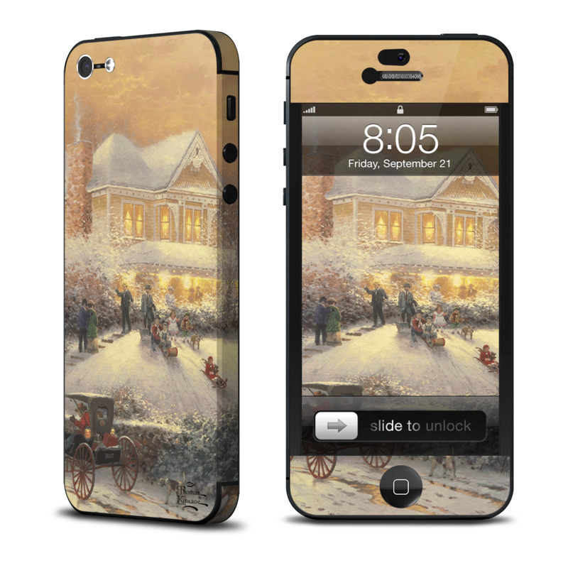 Victorian Christmas iPhone 5 Skin