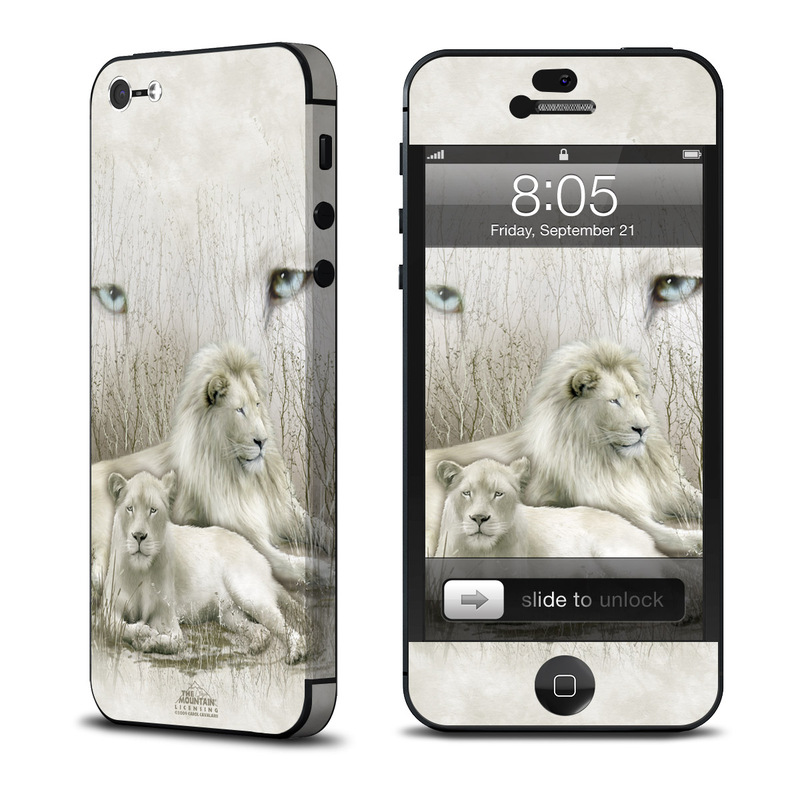 White Lion iPhone 5 Skin