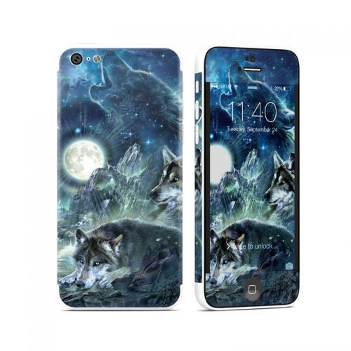 Bark At The Moon iPhone 5c Skin