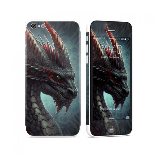 Black Dragon iPhone 5c Skin