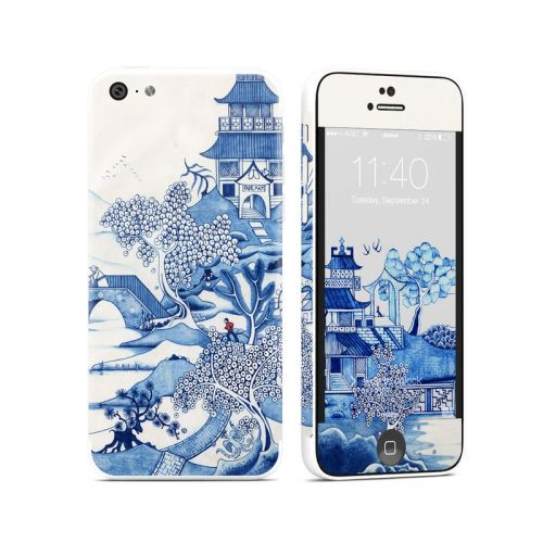 Blue Willow iPhone 5c Skin