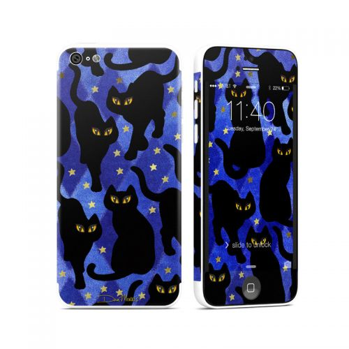 Cat Silhouettes iPhone 5c Skin