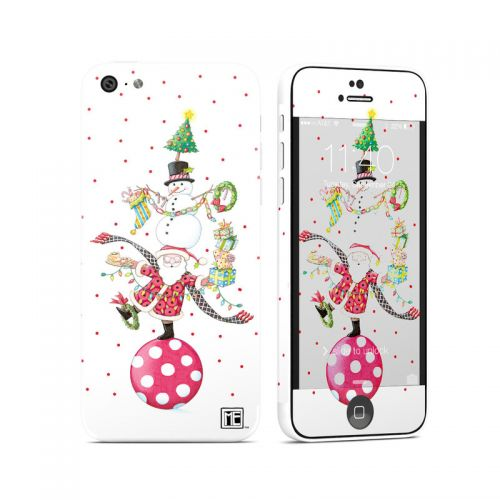 Christmas Circus iPhone 5c Skin