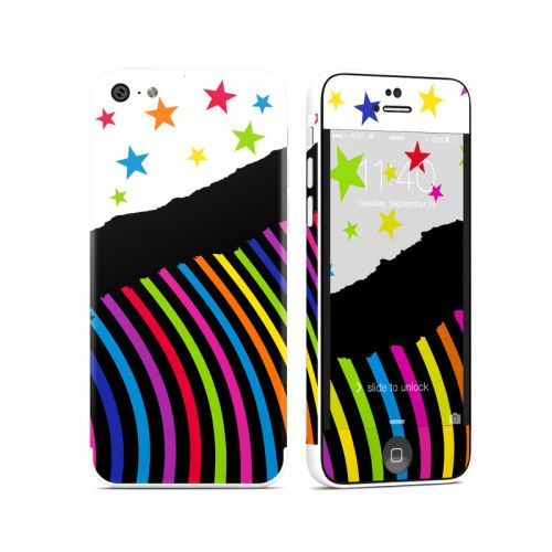 Color Wave iPhone 5c Skin