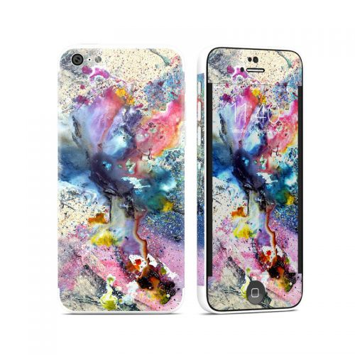 Cosmic Flower iPhone 5c Skin