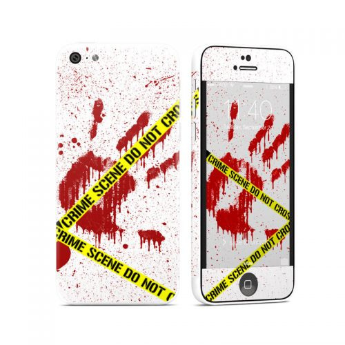 Crime Scene Revisited iPhone 5c Skin