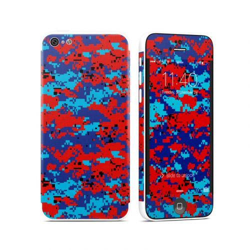 Digital Patriot Camo iPhone 5c Skin