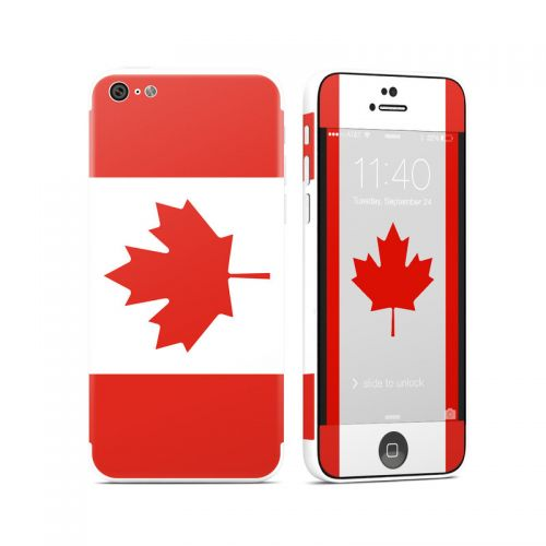 Canadian Flag iPhone 5c Skin