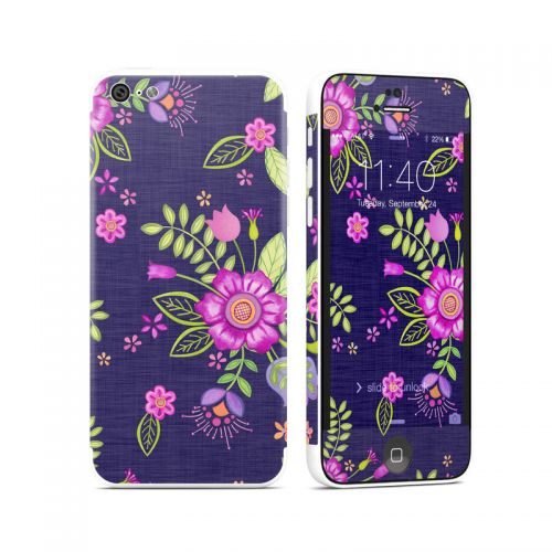 Folk Floral iPhone 5c Skin