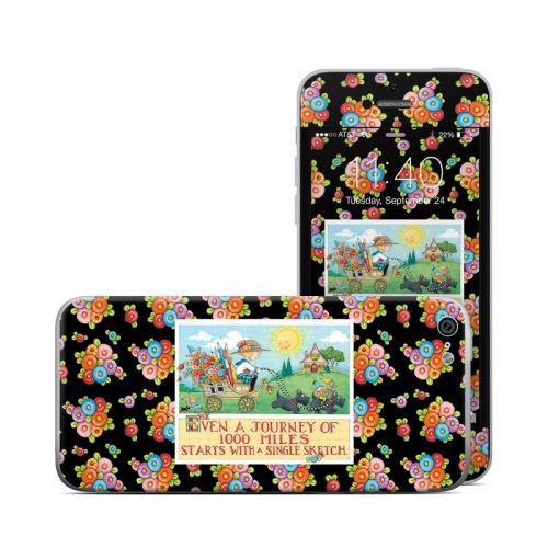 Forty Year Journey iPhone 5c Skin