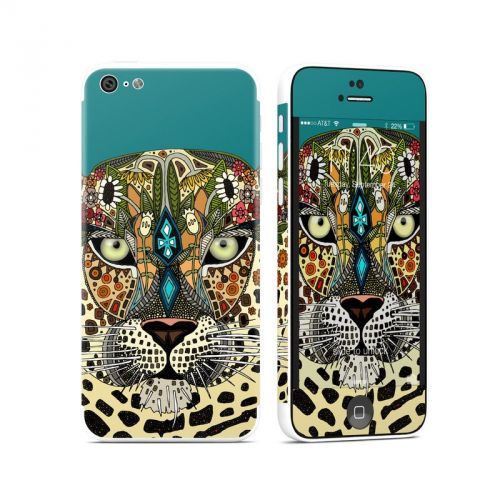 Leopard Queen iPhone 5c Skin