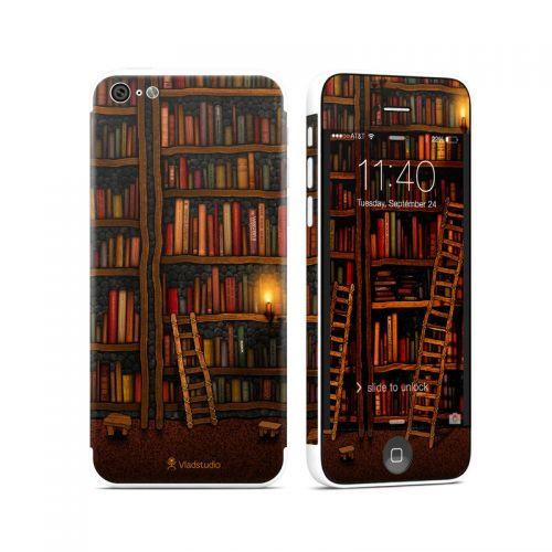 Library iPhone 5c Skin