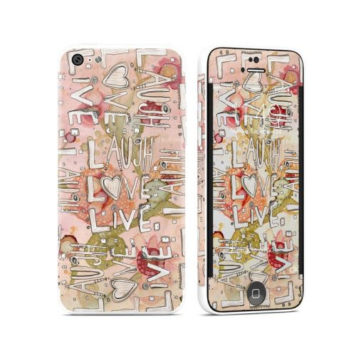 Love Floral iPhone 5c Skin