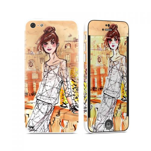 Mimosa Girl iPhone 5c Skin