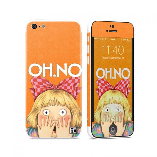 Oh No iPhone 5c Skin