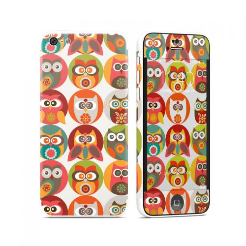 Owls Family iPhone 5c Skin