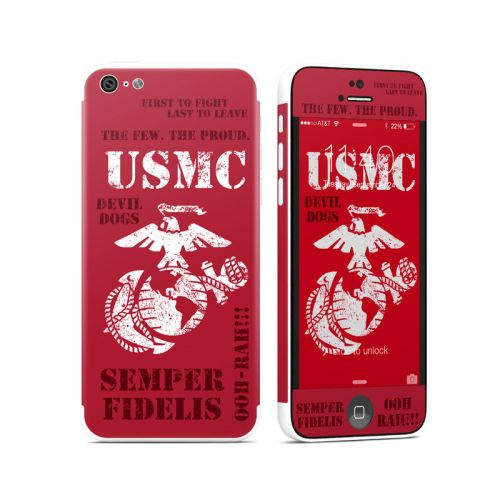 Semper Fi iPhone 5c Skin